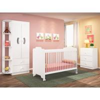 Dormitório Infantil Ternura Branco - Lc Móveis