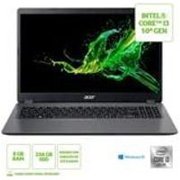 Notebook Acer Aspire 3 A315-56-311J Intel Core I3 10 Gen Windows 10 Home 8Gb 256Gb Ssd 15,6 Fhd