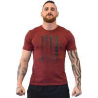 Camiseta Big Jiu Masculina - Masculino-Vermelho