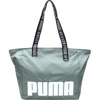 Bolsa Puma Tote Shopper Prime Street Large Feminina - Feminino-Verde