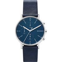 Relógio Analógico Skagen Masculino - Skw64630An Azul