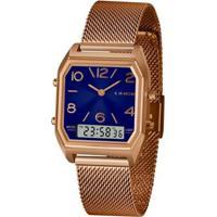 Relógio Lince Anadigi Larh118Ld2Rx Feminino - Feminino-Dourado