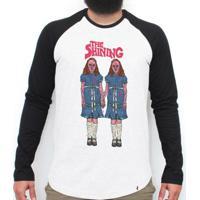 The Shining - Camiseta Raglan Manga Longa Masculina