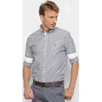 66408c01b8 Netshoes  Camisa Manga Longa Tommy Hilfiger Masculina - Masculino