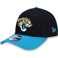Boné New Era 9Forty Jacksonville Jaguars Nfl - Unissex-Preto