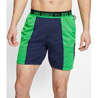 Short Dupla Face Nike Px Masculino - Masculino-Marinho+Verde