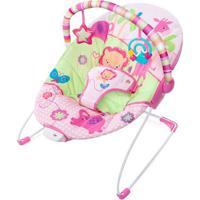 Cadeira De Descanso Animais - Rosa & Verde Claro- 54Bright Starts