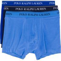 Polo Ralph Lauren Conjunto 3 Cuecas Boxer - Azul