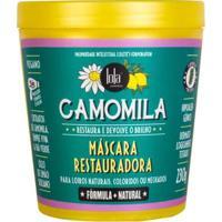 Máscara Restauradora Lola Cosmetics Camomila 230G - Unissex-Incolor