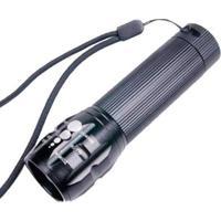 Lanterna Tática Zoom E Strobo - Unissex