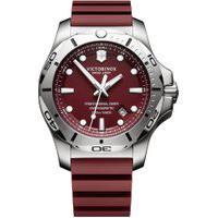 Relógio Victorinox Swiss Army Masculino Borracha Vermelha - 241736