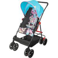 Carrinho Novo Damiano Tutti Baby Reversível Azul/Rosa