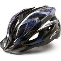 Capacete Atrio Para Ciclismo Mtb Inmold 2.0 Viseira Removível 19 Entradas De Ventilação - Masculino