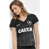 Camisa Botafogo Ii 2018 S/N° Torcedor Topper Feminina - Feminino