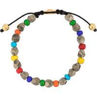 Nialaya Jewelry Faceted Beaded Bracelet - Estampado