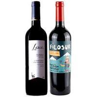 Vinho Tinto Lauca Wines Cabernet Sauvignon 2019 750Ml + Vinho Tinto Filosur Cabernet Sauvignon 2020