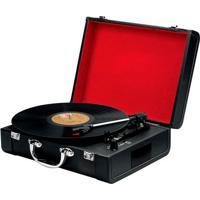 Toca Discos Goldship Xr-1501 Bt Nostalgic Preto Bivolt