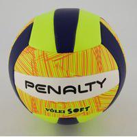 Bola De Vôlei Penalty Soft X Amarela E Laranja