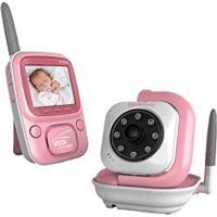 Babá Eletrônica Digital Vista Siga-Me Baby Com Monitor Colorido Bivolt - Rosa