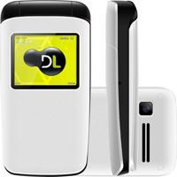 Celular Dl Yc330 Flip Dual Chip Desbloqueado Branco