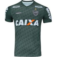 Camisa De Treino Do Atlético-Mg 2018 Topper - Masculina - Verde Escuro
