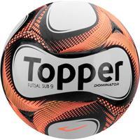 58a0907655 Netshoes  Bola Futsal Topper Dominator - Unissex