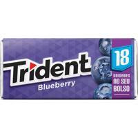 Goma De Mascar Trident Blueberry 30,6G
