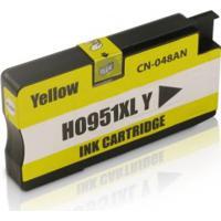 Cartucho Compatível Hp 951 Cn052Al Yellow, Impressora 8600 8100 8610 8620 8600 Plus 276Dw 251Dw