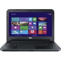 "Notebook Dell Inspiron I14-2620 - Preto - Intel Core I3-2375 - Ram 4Gb - Hd 750Gb - Tela 14"" - Windows 8"