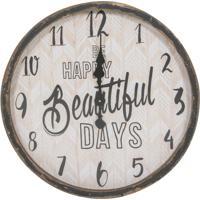 Relógio Decorativo De Parede Happy Days
