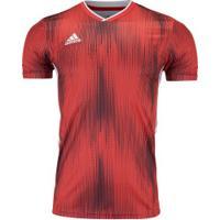 Camisa Adidas Tiro 19 - Masculina - Vermelho/Branco