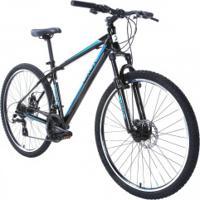 Bicicleta Oxer Xr210 - Aro 27,5 - Freio A Disco - Câmbio Traseiro Shimano - 21 Marchas - Preto/Azul
