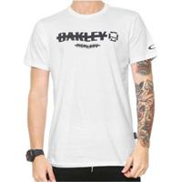 Camiseta Oakley Unsublished Tee - Masculino-Branco