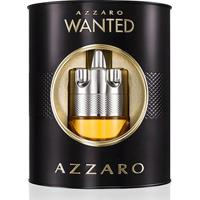 Kit Perfume Masculino Wanted Azzaro Eau De Toilette 100Ml + Hidratante Facial 50Ml - Masculino