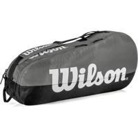 Raqueteira Wilson Esp Team X3 - Unissex