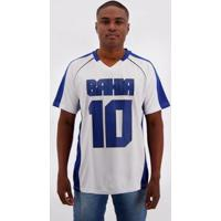 Camiseta Bahia Futebol Americano Masculina - Masculino-Branco