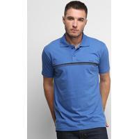Camisa Polo Nicoboco Slim Fit Lochalsh Masculina - Masculino-Azul