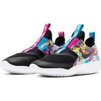 Tênis Juvenil Nike Flex Runner Fable - Feminino-Preto+Azul