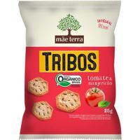 Biscoito Orgânico Tribos Tomate E Manjericão Mãe Terra 25G