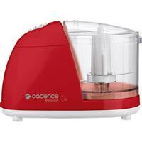 Miniprocessador De Alimentos Cadence Easy Cut Colors 1 Velocidade Vermelho - 100W