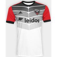 Camisa Dc United Mls Away 17/18 S/N° Torcedor Adidas Masculina - Masculino