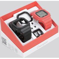 Relógio Digital Champion Troca Pulseiras Unissex - Cp40180X Multicor - Único