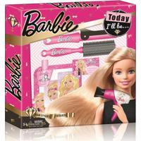 Barbie Hairstylist Gift Set Com Acessórios De Beleza Material Plástico Indicado Para +3 Anos Rosa Multikids - Br811 Br811