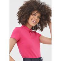 Camisa Polo Malwee Rosa