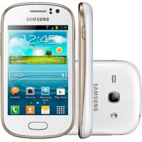 "Smartphone Samsung Galaxy Fame Duos S6812 - 5Mp - Android 4.1 - 3.5"" - 4Gb - Dual Chip - 3G - Branco"