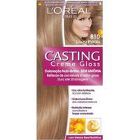 Tintura Casting Gloss L'Oréal Brasil - 810 Louro Pérola - Feminino-Incolor