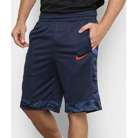 Bermuda Nike Dry Courtlines Print Masculina - Masculino