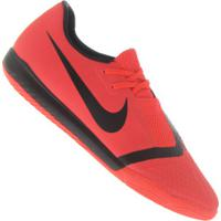 Chuteira Futsal Nike Phantom Venom Academy Ic - Adulto - Vermelho/Preto