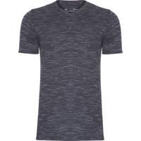 Camiseta Masculina Ua Sportstyle Core V Neck - Preto