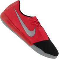 Chuteira Futsal Nike Phantom Venom Academy Ic - Adulto - Coral/Preto